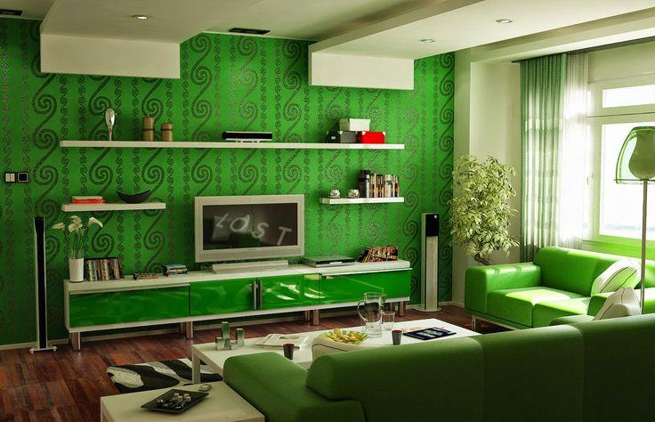living green - living room green design creative design agency munich milo