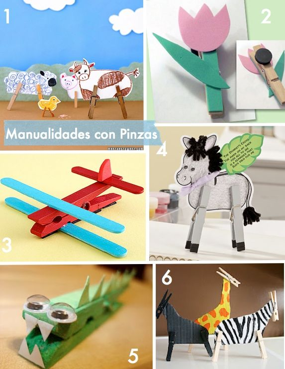 Clothespins Kids Crafts