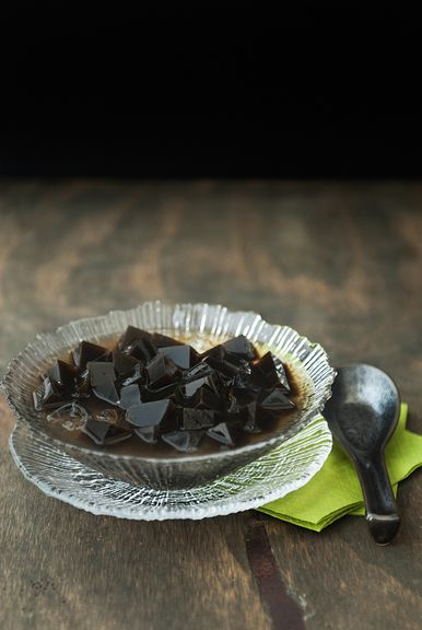 chinese grass jelly and ai-yu jelly recipe | use real butter