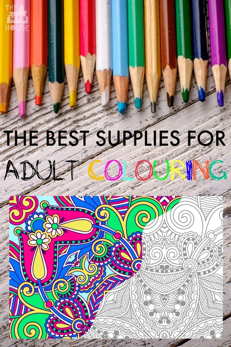 The Ultimate Free Adult Colouring Pages Roundup