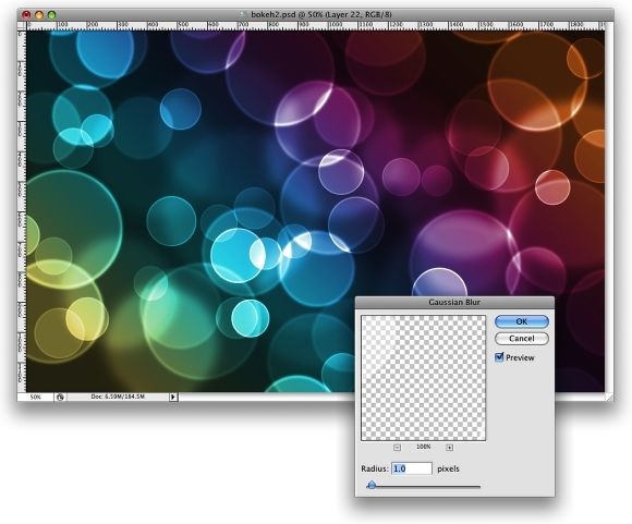 In the words of the author: .... I will show you how to create a digital bokeh effect in Photoshop. The process is very easy and we will be using the super powerful Brush Engine, one of the coolest things in Photoshop.