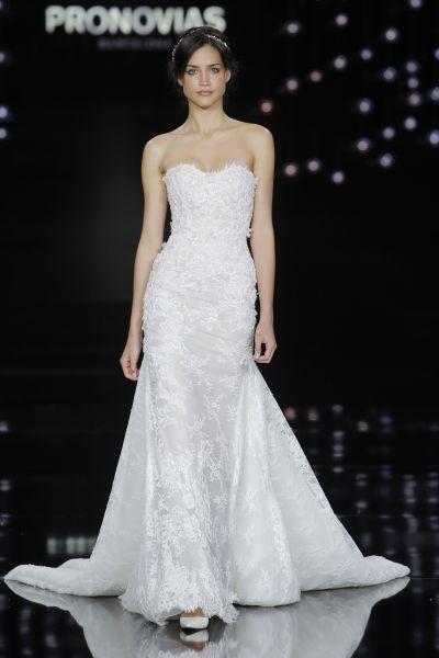 Vestidos de novia corte sirena 2017: 35 propuestas que te enamorarán Image: 26