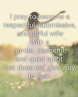 Marriage will put you to the test. Pray to become a respectful submissive and joyful wife with a gentle peaceful quite spirit that does not give way to fear. It will do wonders for your marriage.