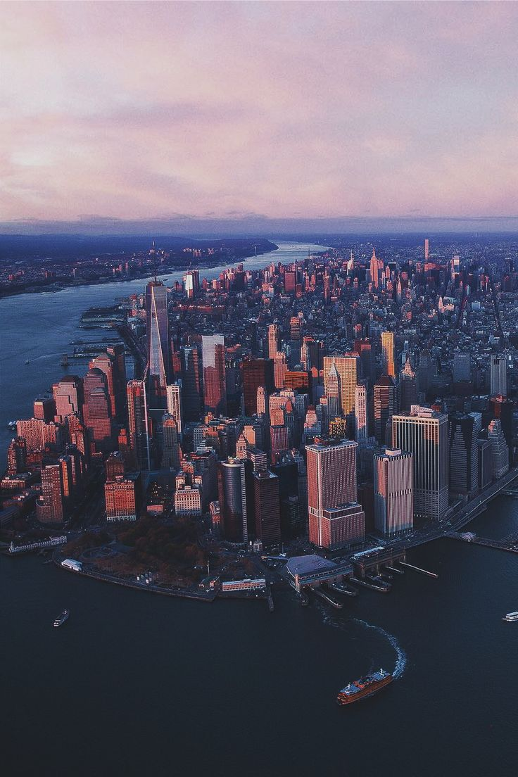 "ikwt: ""Sunrise in NYC (seandshoots) 