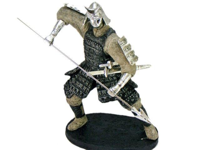 Samurai statueta razboinic japonez