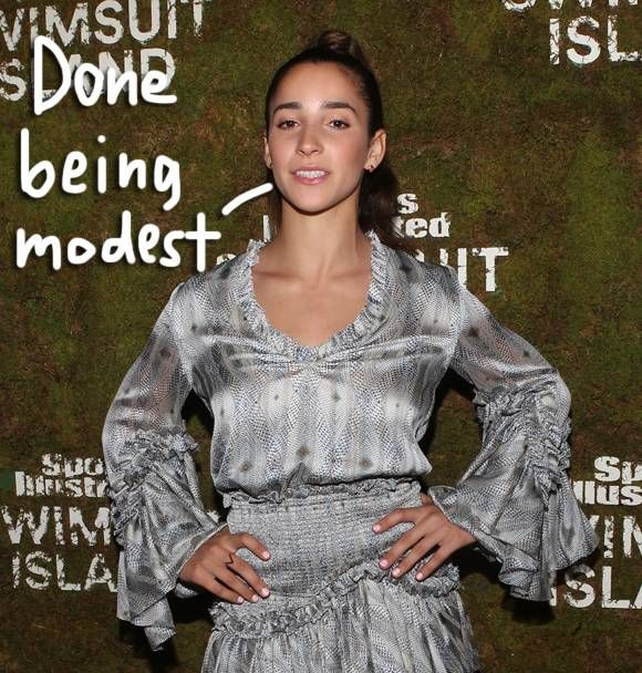 Aly Raisman Flips A Middle Finger To Larry Nassar By Posing Nude For An Empowering AF Sports Illustrated Photoshoot — LOOK!