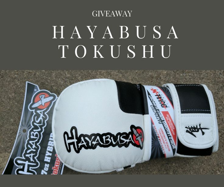 This month we are giving Away a brand new, $90 value MMA Gloves - Hayabusa Tokushy 7oz Hybrid (XL Size) to a lucky subscriber. US residence only.