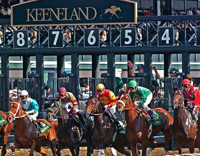 Lexington, Kentucky: Keeneland Race Course