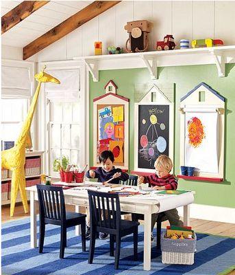 I Love the Giraffe!: Play Rooms, Kids Playroom, Kids Room, Chalk Board, Cork Board, Chalkboard, Playrooms, Playroom Ideas