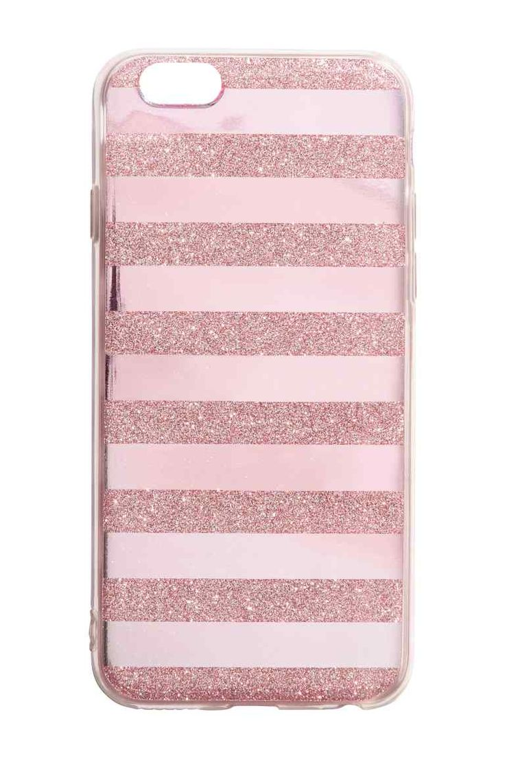 iPhone 6/6s-case - Roze/glitters - DAMES | H&M NL 1