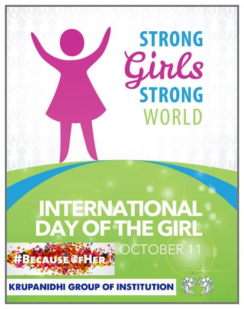 """#InternationalDayofTheGirl #Oct11 """"When a girl gets the right start in life, her potential is limitless. When a girl grows up knowing that she can follow her dreams, her dreams get bigger.  Every girl deserves an equal start in life and the chance to grow to her full potential. That equality starts with clean water, healthy food and a safe place to live. It starts with education, support from the community and freedom from violence.""""  Together, we can create these conditions for girls across…"""