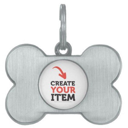 CREATE-YOUR-OWN DIY Custom upload your design Pet Name Tag - diy gifts cyo creative personalize
