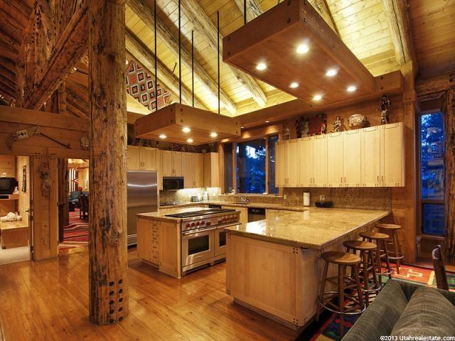 Jon Huntsman Sr Park City Utah Kitchen Featured In WSJ House Of The Day