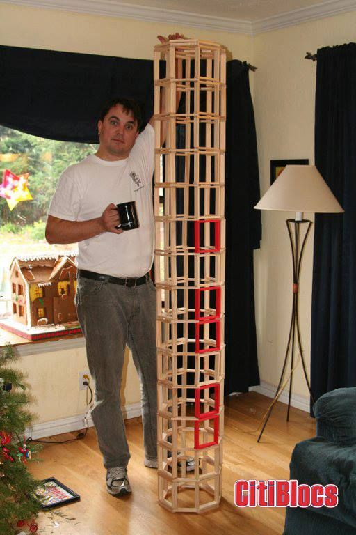 #eco-friendly, #toy, #blocs, #wood, #buildanything, #kids, #citiblocs, #tower, #architecture,