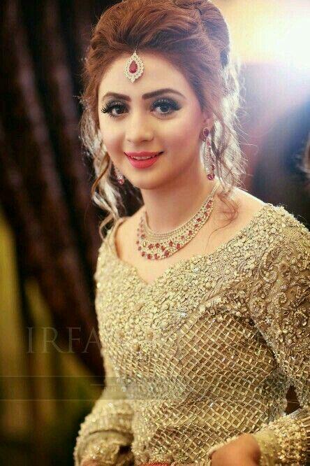 Pin By Faiqa Khan On Wedding Pinterest Hair Hair Styles And Bridal