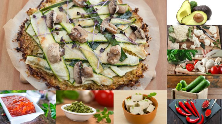 Cauliflower Pizza Crust Recipe Perfect For A Healthy Vegan Lunch!