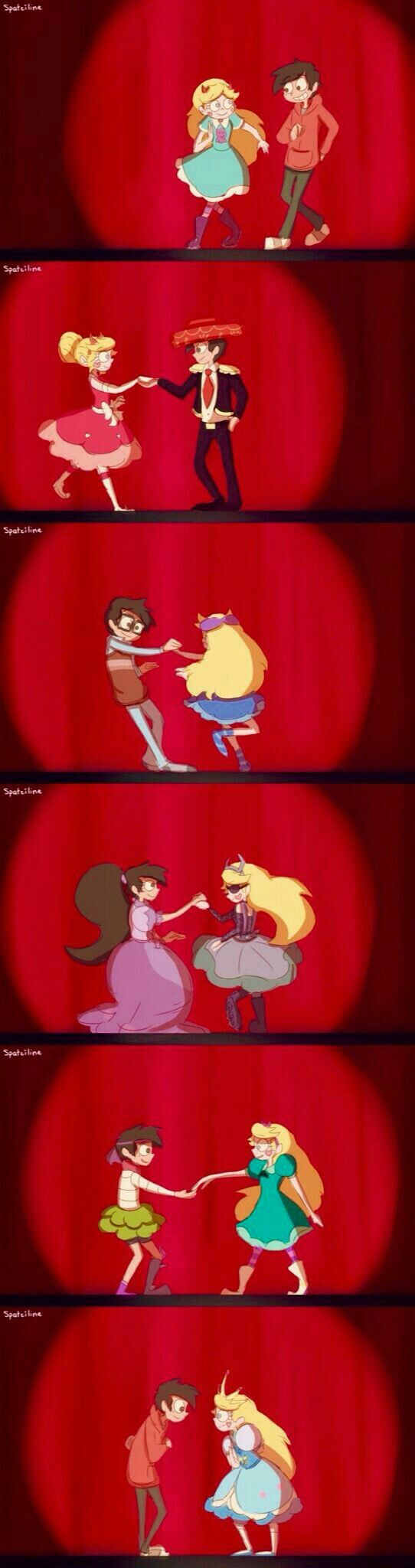 Starco costume changes