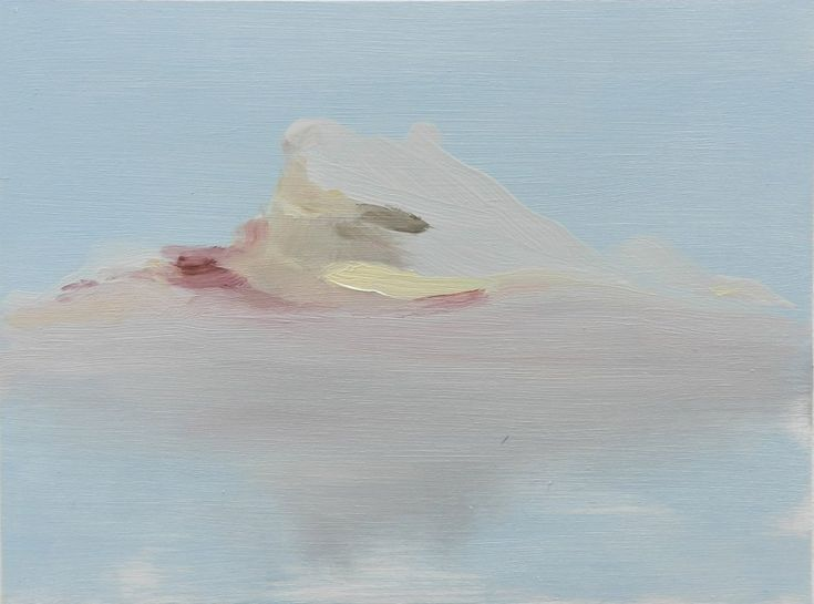Iceberg, oil on board, 195 x 145mm, (private collection)