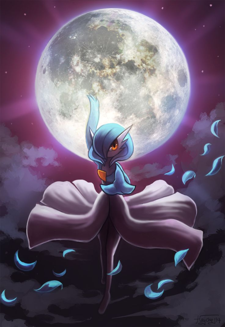 Gardevoir used Moonblast by Haychel.deviantart.com on @deviantART