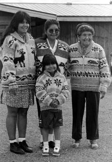 cowichan sweater family