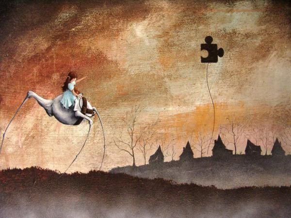Robert Dowling  - Amazing Surreal Paintings by Robert Dowling  <3 <3