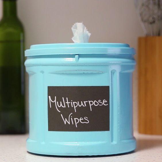 DIY Multipurpose Cleaning Wipes