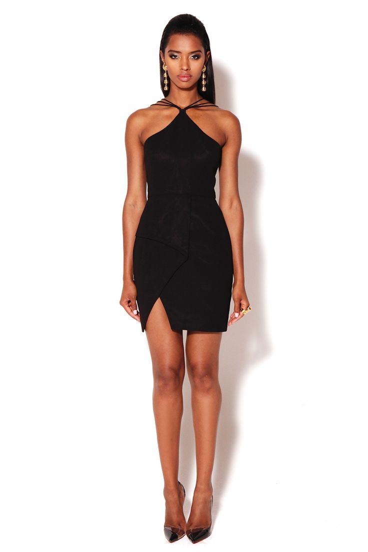 Black dress goals - Brompton Mini Black Vlabel London