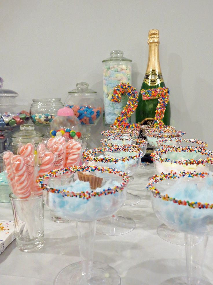 26 Ideas For The Delimitation: My Sugar Sweet 27th Birthday Party