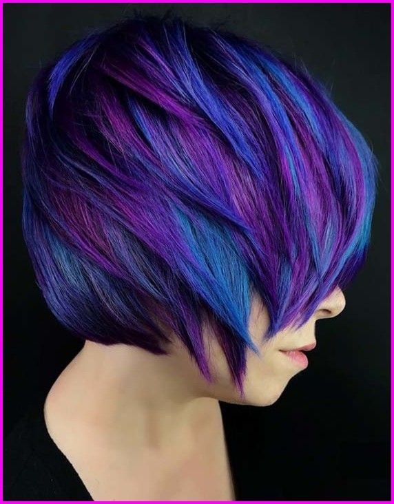50 Hair Color Ideas For Short Hair Short Haircuts Are The Perfect Platform For Balayage The Color Techni Bright Hair Colors Cool Hair Color Short Hair Styles