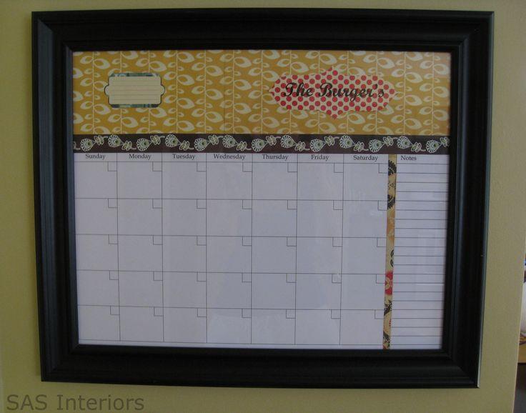 Diy Calendar Bulletin Board : Best images about diy boards chalk dry erase