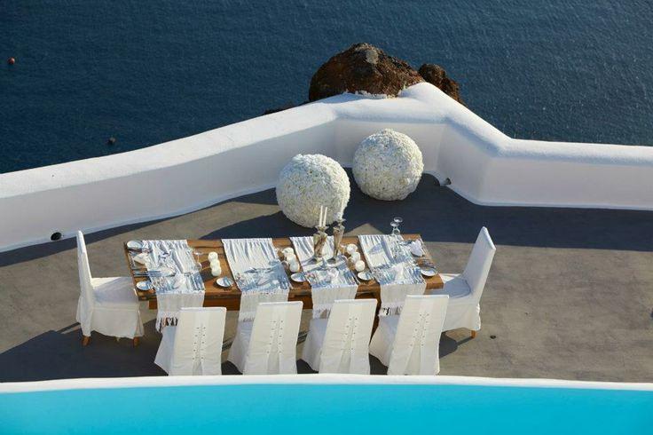 Wedding Reception at Kirini Suites - Santorini