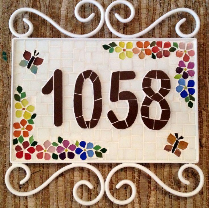 Number, numero em mosaico