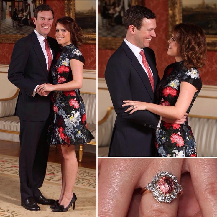 ‪Just released: Here are the official engagement pictures of Princess Eugenie of York & Mr. Jack Brooksbank. The pics were taken in the Picture Gallery at Buckingham Palace by @BradyBoxBrownie ‬ via ✨ @padgram ✨(http://dl.padgram.com)