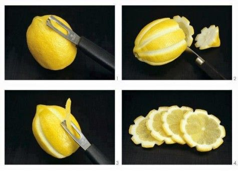 Awesome idea for lemon in water or homemade lemonaide