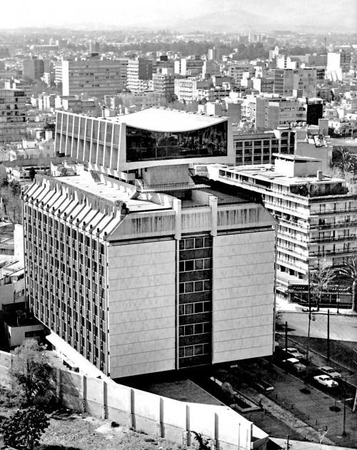 unavidamoderna: Edificio de la Seguros Monterrey, av. Presidente...