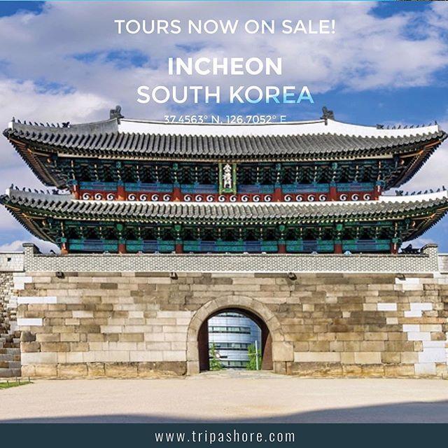 For a full range of tours covering destinations worldwide visit www.tripashore.com⠀⠀⠀⠀⠀⠀ ⠀⠀⠀⠀⠀⠀ #incheon  #seoul  #seoulkorea  #southkorea #korea ⠀⠀ ⠀⠀ #cruise #tourism #shoreexcursion #cruisetour ⠀⠀⠀ #traveltheworld #travelogue⠀⠀ ⠀⠀ #pocruises #cunard #hollandamericacruiseline #hollandamerica #princesscruises #royalcaribbean #silversea #pocruisesaustralia #celebritycruises #norwegiancruiseline