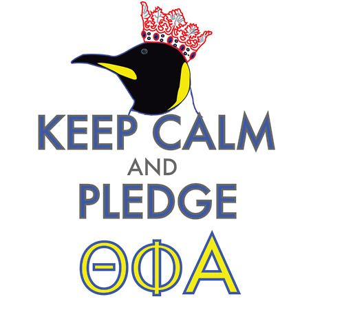 keep calm and pledge theta phi alpha! @theta_phi_alpha