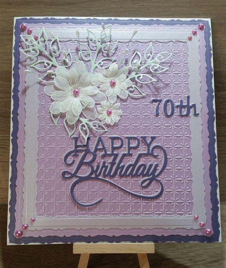 Best 25 Dad Birthday Cards Ideas On Pinterest: 25+ Best Ideas About 70th Birthday Card On Pinterest