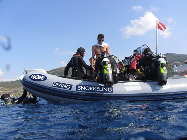 Diving Club ecosostenibile Sicilia:H2ome