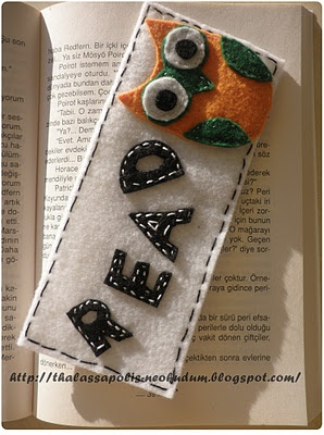 Owl Bookmark made by me
