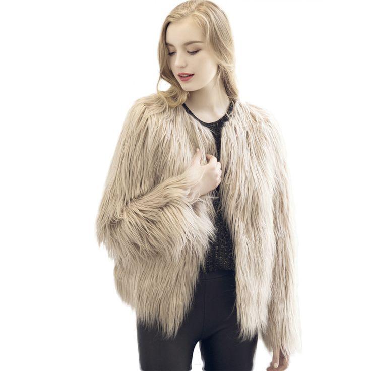 Pink Fur Coat Plus Size Bontjas Ostrich Feather Coat Casaco Pele Pelzweste Sheepskin Woman Jackets Fur 2016 Fashion Winter Coats