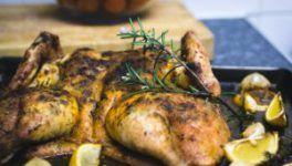 Recept: gevlinderde kip met citroen en dragon