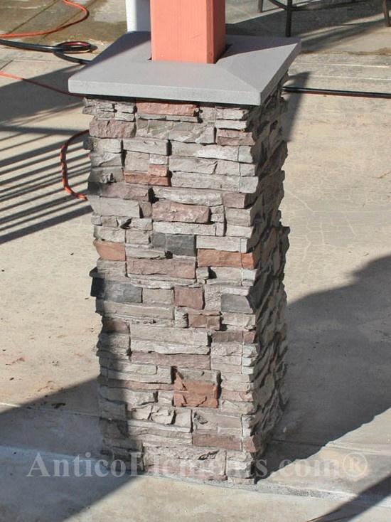 Stone Columns Wraps Kits : Best column wrap ideas on pinterest porch