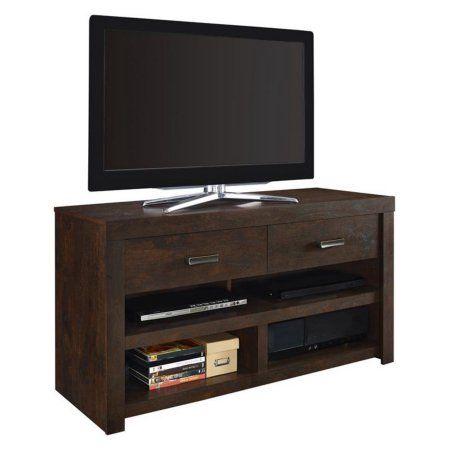 Altra Westbrook 42 inch TV Stand, Dark Walnut, Brown
