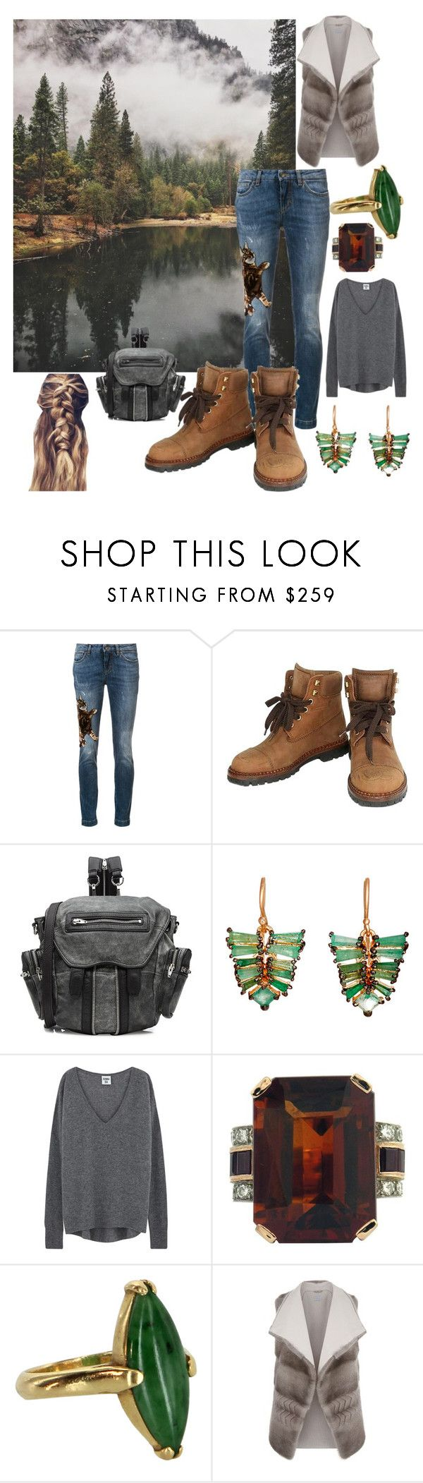 """Untitled #3"" by changinglanez ❤ liked on Polyvore featuring Dolce&Gabbana, Chanel, Alexander Wang, Nak Armstrong, Vintage and malo"