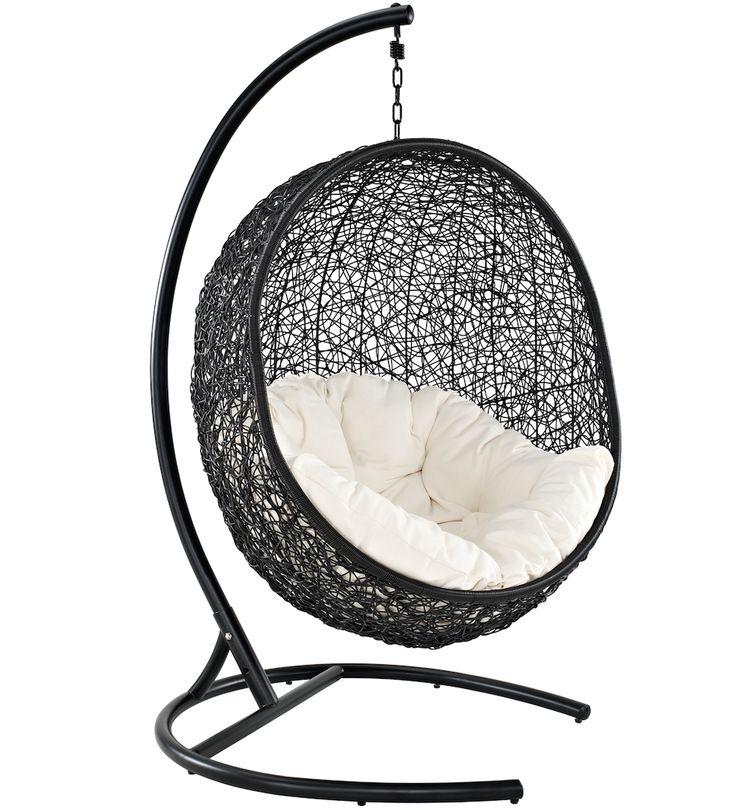 Pandora Outdoor Wicker Swing Chair