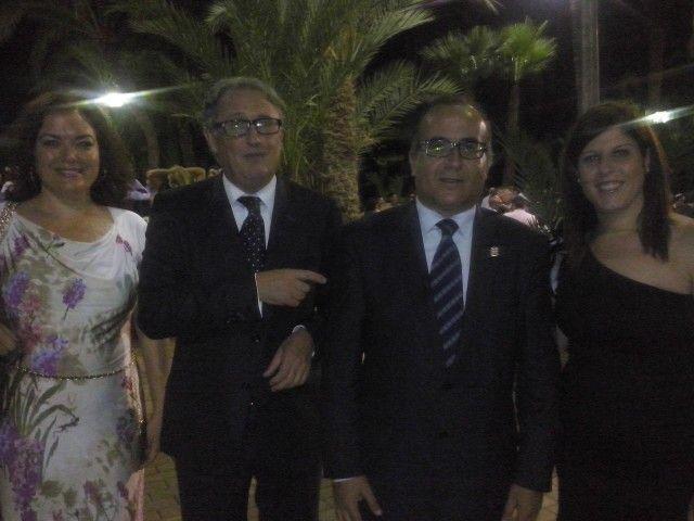 Jesus Caicedo, Juan Francisco, Monica Navarro, IV Premios La Voz de Almeria