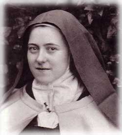 Saint Therese, the Little Flower... teach me your little way.