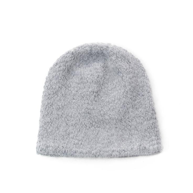 Grey winter hat. #hat #winter Szaleo.pl | Fashion & Accessories