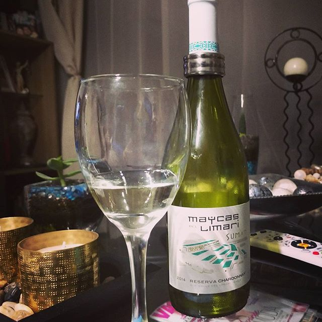 #chardonnay #valledellimari #wine #SCL #Chile